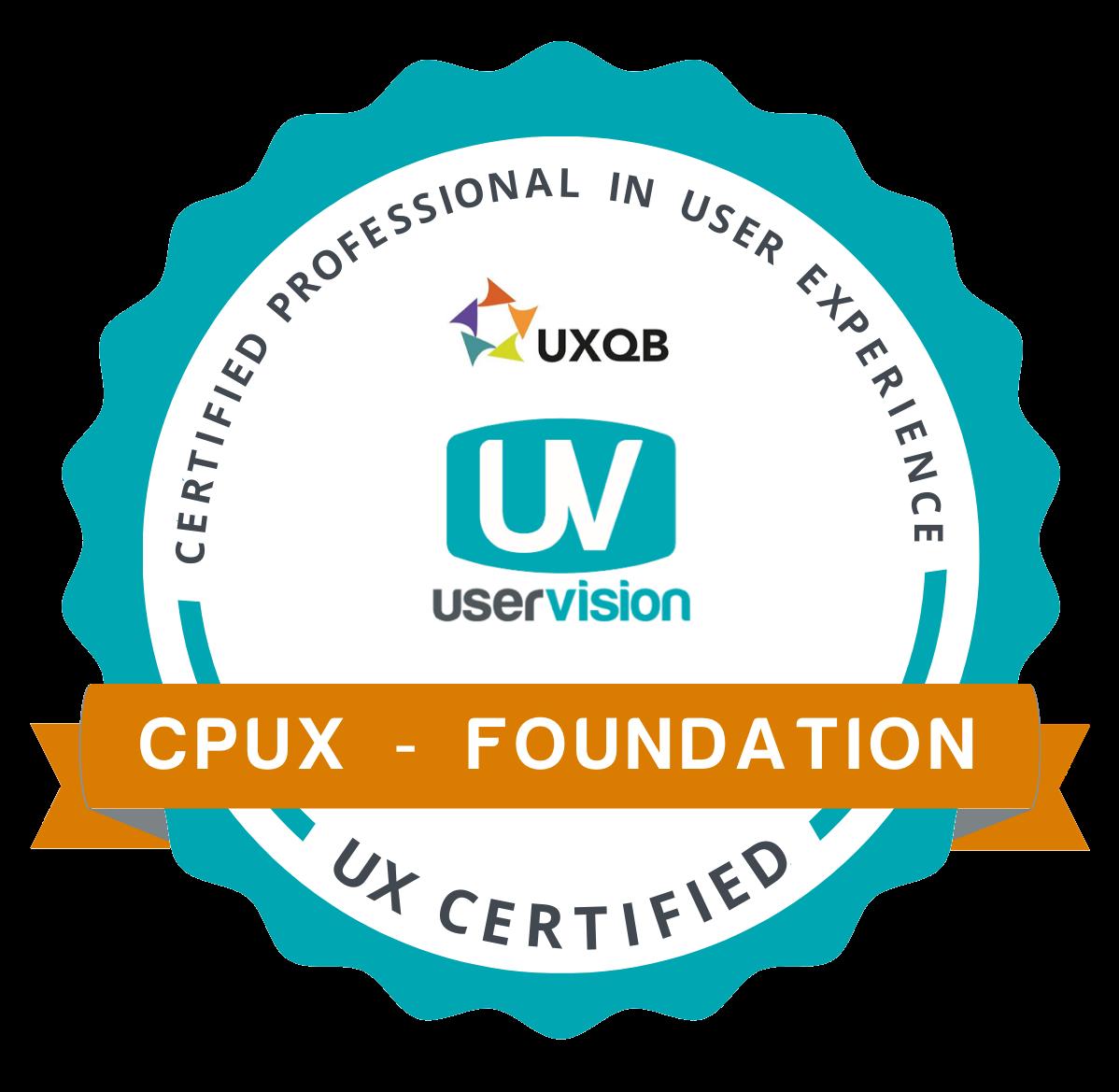 CPUX badge